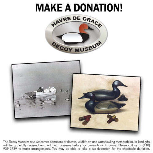 Donate to the Decoy Museum